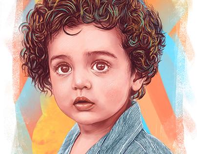 Child - Digital Painting