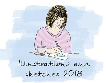 Illustrations 2018 for Studway (UKR)