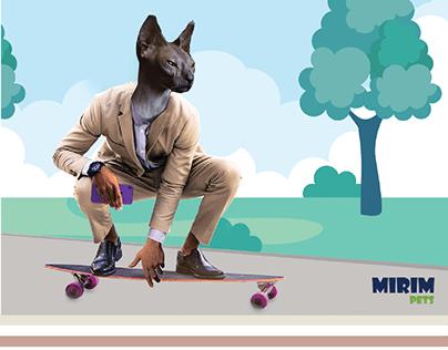"""Mirim Pets - Campanha """"Seu pet é a sua cara"""""""