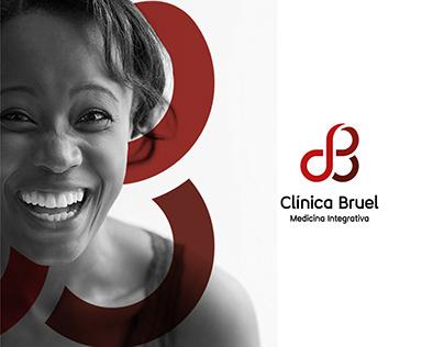 Identidade Visual Clínica Bruel