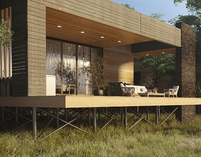 Sreda.club – luxury village promo site.