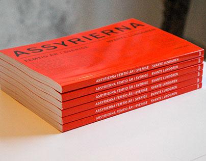 Book Design: 'Assyrierna femtio år i Sverige'