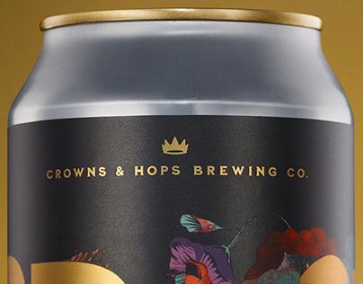 CROWNS & HOPS - BLACK JOY