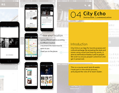 City Echo is an app helps you to explore the city