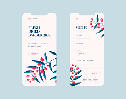 Weekly UI/UX From Dribbble