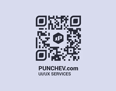 QR Code - Business Card Design