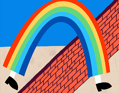 The Walking Rainbow