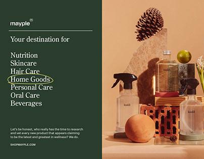 Mayple - Branding and Website Design - New York