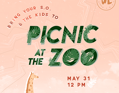 Zoo Event Poster