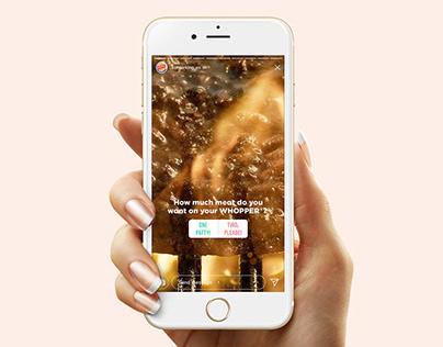 Burger King / Stories Ordering / Activación Digital
