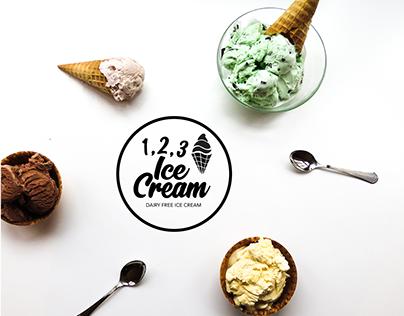 1 , 2 , 3 Ice Cream