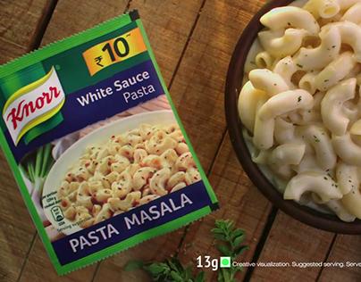 Knorr White sauce Pasta Food stylist Chef Payal Gupta