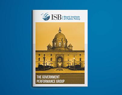 Magazine Design - Indian School of Business, Mohali
