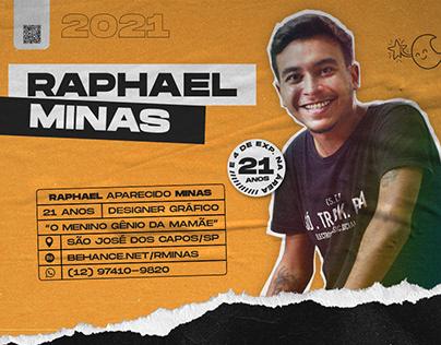 Creative Curriculum + Portfolio 2021   Raphael Minas