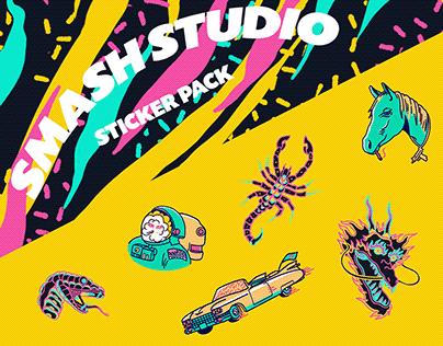Sticker Packs - SMASH STUDIO