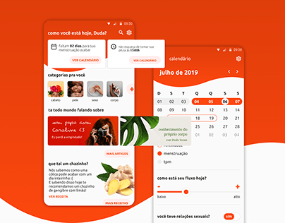 [mobile] app menstrual