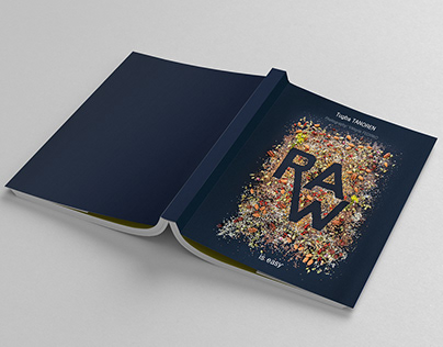 RAW book photography and layout