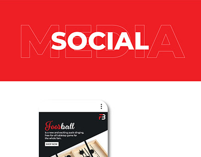 Social Media Campaign for 'Foos Ball Store'