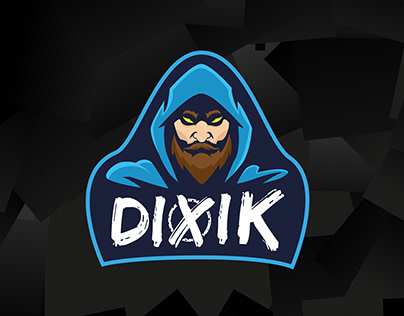 DIXik - Gaming Logo