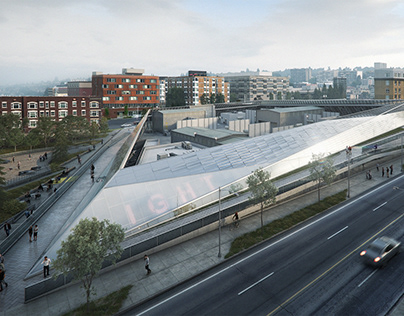 Pictury for NBBJ | Denny Substation