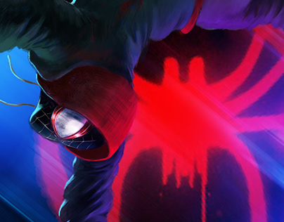 "Spider_man ""Into The Spider Verse"""
