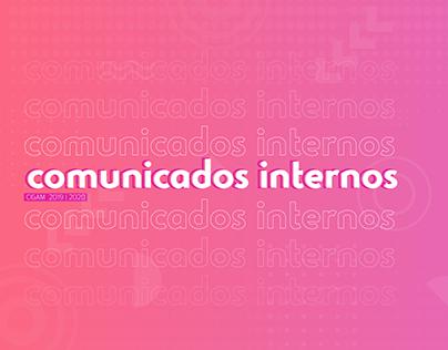 Comunicação Interna CIGAM 2019   2020