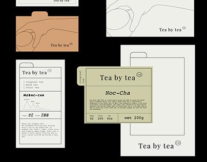 Tea Lab   Visual Identity