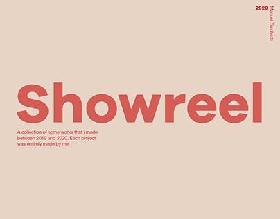 Graphic desing Showreel 2020