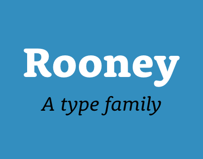 Rooney Type Family
