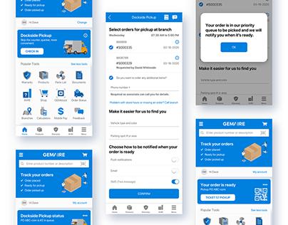 Contractor Assist   UI/UX 2020 mobile app design