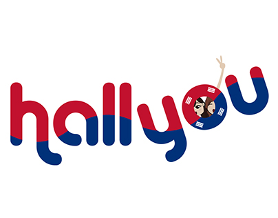 HALLYOU: Behind the K-pop Life Logo