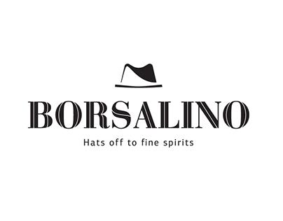Logo design for Borsalino bar.