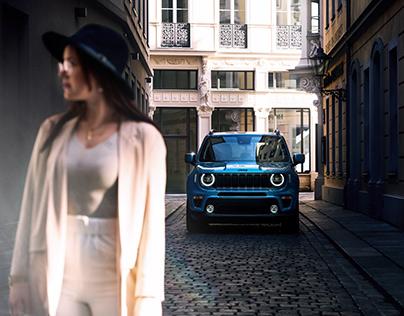 Baroque x Jeep Renegade
