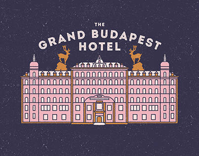 The Grand Budapest Hotel Icon Series