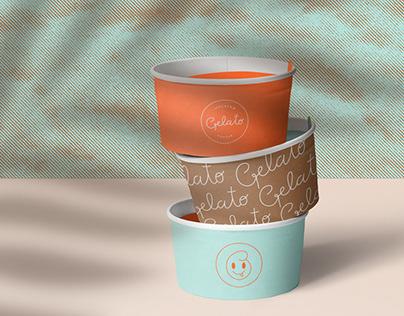 Gelato - Ice Cream Cafe Branding