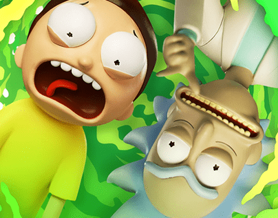 Rick & Morty Collectibles Promo (With VFX Breakdown!)