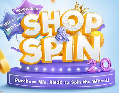 Shop & Spin - Promotion