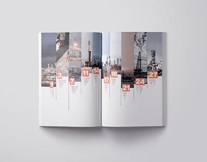 Booklet Design - annual report