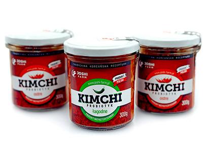 Kimchi - logo + etykieta
