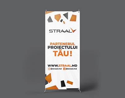 X-Stand Banner for Straal