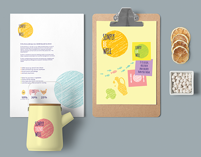Simply Be Well — Brand Identity