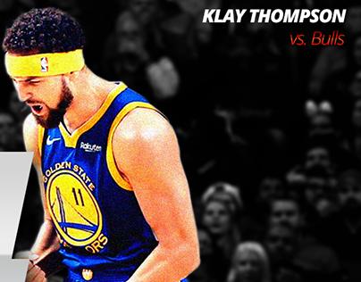 Klay Thompson vs. Bulls | NBA Stats