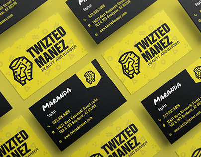 Twizted Manez Beauty and Barber | Branding - Web Design