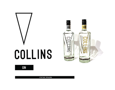 Collins Gin Package Design