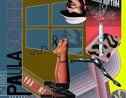 Paula Scher Collage