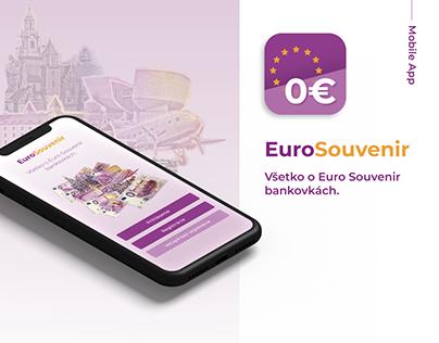 EuroSouvenir App - EuroSouvenir banknotes | UI/UX