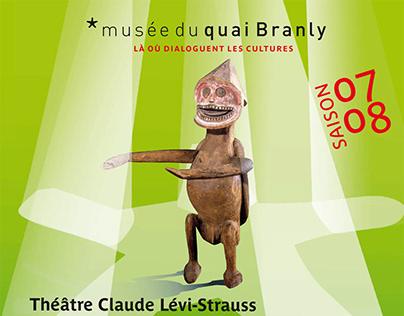Affiche et programme, Musée du quai Branly