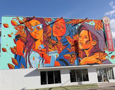 Murales de Puerto Rico: Santurce es Ley