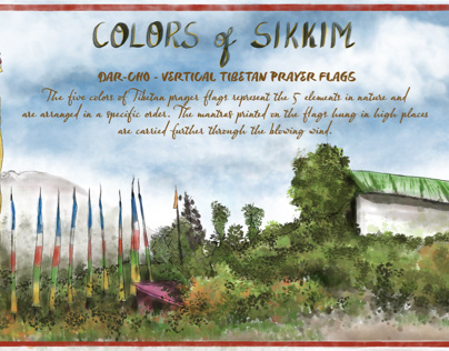 Colors of Sikkim, India