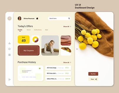 Dashboard Design | UX UI Concept